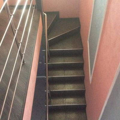 Наружная лестница, п.Одинковка_4