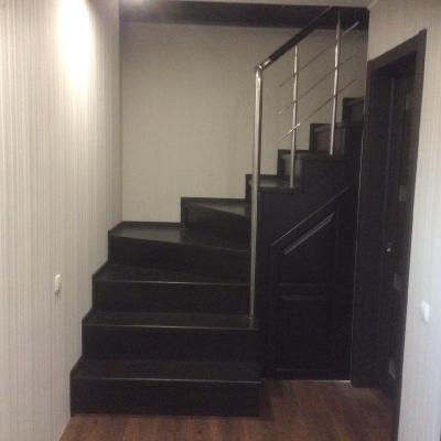 Деревянная лестница, г. Днепр, ул. Ростовская_3